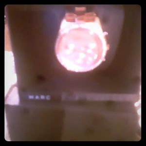 Marc Jacob's rose gold diamond plated watch